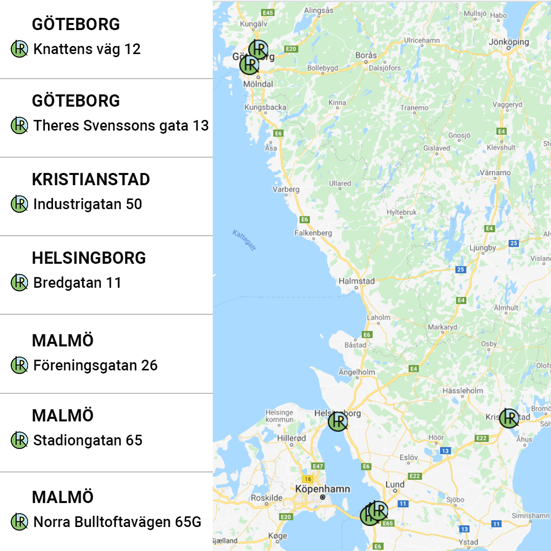 Stöd och Matchning Göteborg, Malmö, Kristianstad, Helsingborg